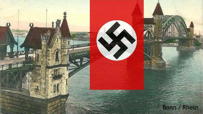 Siebengebirge histoire, Allemagne nazi