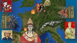 L'époque des Hohenstaufen, Moyen Âge, 1214