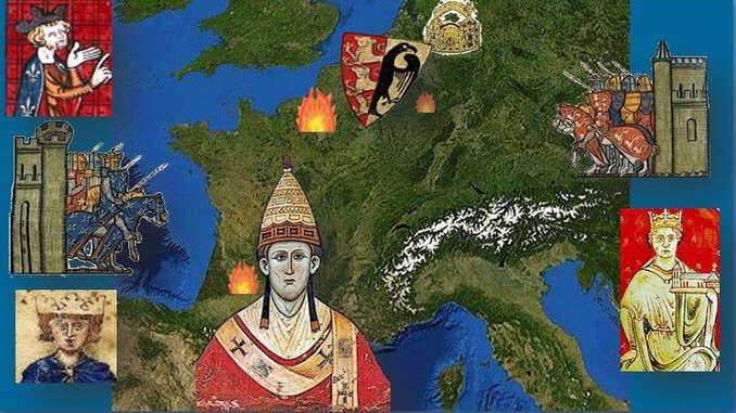 Europe, Bouvines 1214