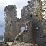 Ruine du château fort médiéval Drachenfels, Siebengebirge, Königswinter