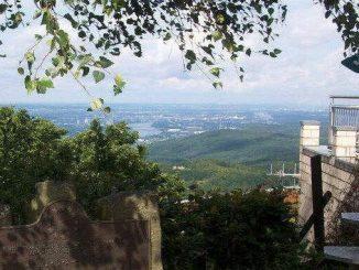 Ölberg, Siebengebirge, Königswinter, vue vers le sud