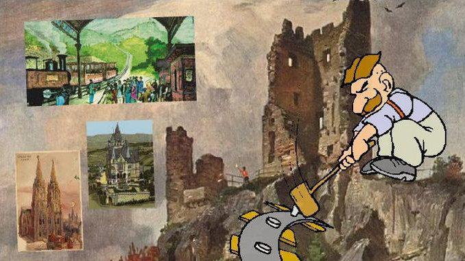 Siebengebirge histoire, Empire allemand, temps de Bismarck