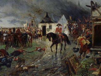 Siebengebirge histoire, les troupes de Wallenstein en guerre