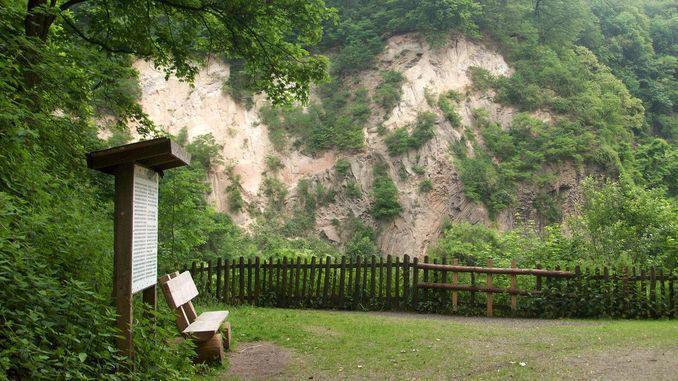 Mont Weilberg, carrière abandonnée, Siebengebirge