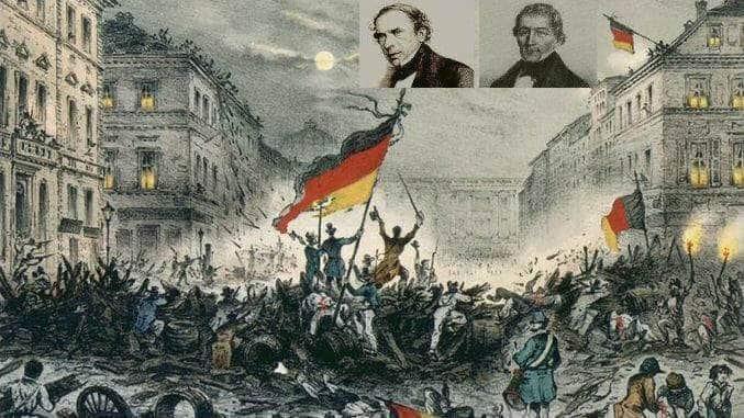 Siebengebirge historie, Rhénanie prussienne, révolution 1848