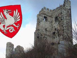 Château fort Drachenfels, blason