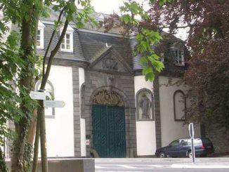 Abbaye de Heisterbach, portail
