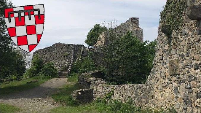 Château fort Löwenburg, blason