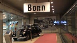 La voiture officielle du chancelier Adenauer, Haus der Geschichte, Bonn