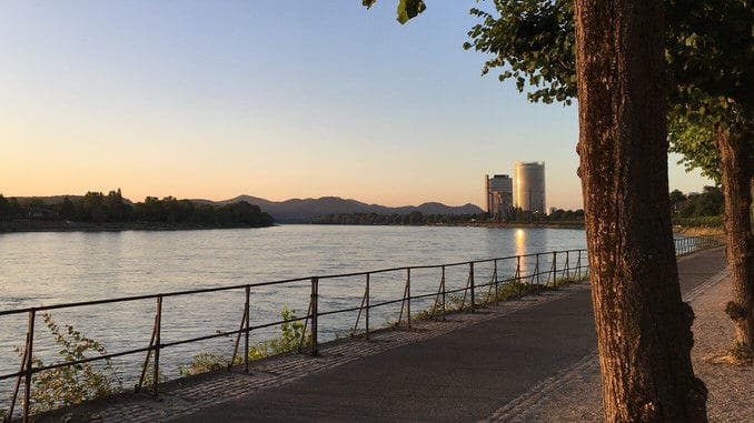 Rhin à Bonn