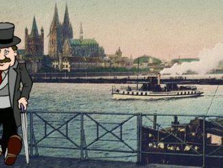 Rhin et Cologne dans les années 1920