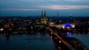 Rhin à Cologne
