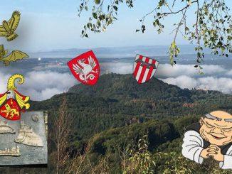 Dragons lions animaux héraldiques, Drachenfels et Wolkenburg, blasons