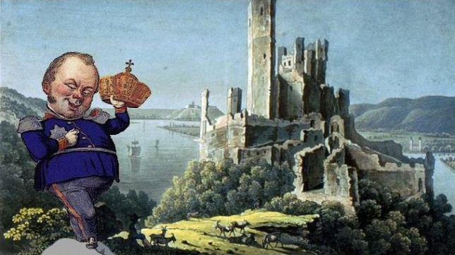 Roi Frédéric Guillaume IV, château Stolzenfels