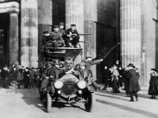 Revolution à Berlin, novembre 1918