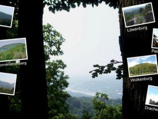 Vue du Geisberg sur la vallée du Rhin