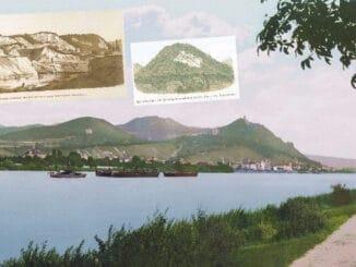 Rhin et Königswinter vers 1900, carrières